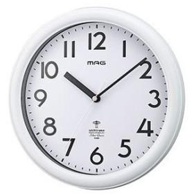 電波掛け時計 カプタイン ホワイト W-650 WH-Z