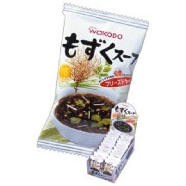アサヒグループ食品 WAKODO もずくスープ 3.6g 1箱(20食)