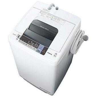 日立 7.0kg 全自動洗濯機 ピュアホワイト HITACHI 白い約束 NW-7WY-W