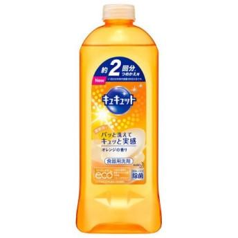 花王 キュキュット オレンジの香り つめかえ用 (385ml) 食器用洗剤