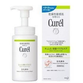 【T】 花王 キュレル 皮脂トラブルケア 泡洗顔料(150mL)