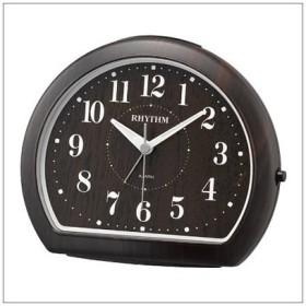 リズム時計 クロック 8RE662SR06 目覚まし時計 マイキーR662