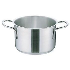 ムラノ インダクション18-8半寸胴鍋(蓋無) 16cm AHVA301
