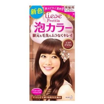 花王 リーゼ 泡カラー ココアブラウン (1セット) 黒髪用 ヘアカラー 【医薬部外品】