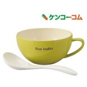 ボン ビュッフェ カップ スープカップ&スプーン グリーン T-36102 ( 1コ入 )