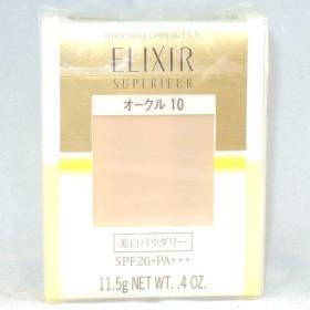 資生堂 エリクシール シュペリエル ホワイトニングパクト UV レフィル オークル10 11.5g