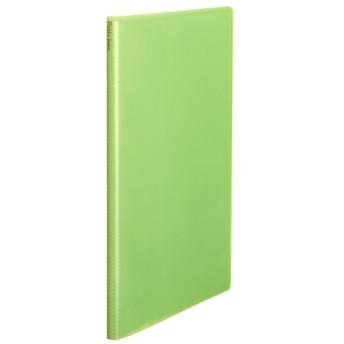 プラス(PLUS) クリアーファイル パスティプチ A4サイズ 20P FC-470PP マスカットグリーン 98-475
