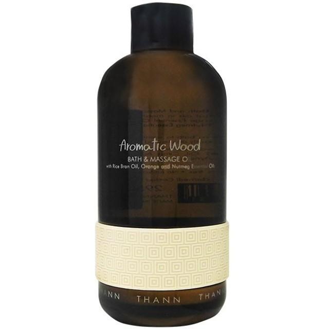 タン THANN バス&マッサージオイル AW 295ml Aromatic Wood サボン SAVON 石鹸 【香水 フレグランス】【バレンタイン ギフト】