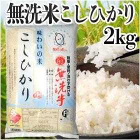 無洗米あらったくん 味わいの米コシヒカリ(国内産) 2kg