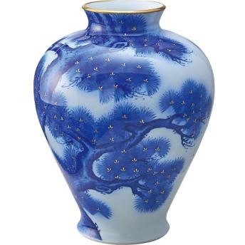 香蘭社 老松文 花瓶 室内装飾品 花瓶 和陶花瓶 915-NC10 代引不可