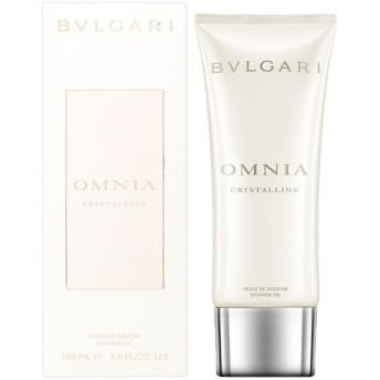 ブルガリ BVLGARI オムニア クリスタリン シャワーオイル(ボディソープ)100ml Omnia Crystalline Shower Oil 【香水 フレグランス】【新生活 ギフト】