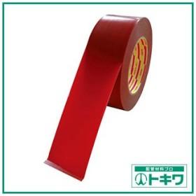 パイオラン ラインテープ 50mm幅 赤 L-10-RE-50MM ( L10RE50MM )