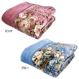 毛布 吸湿発熱わた入り毛布 フランネル毛布 シングル マイクロフランネル吸湿発熱わた入り毛布 20KM13AF14