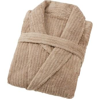 極ふわ やさしいたおる‐premium‐ バスローブ ベージュ 繊維雑貨 繊維雑貨 小物縫製品 YTP-172501 代引不可