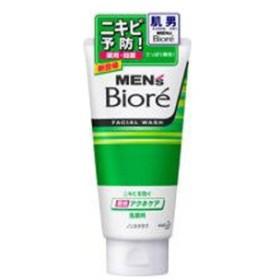 花王 MEN's Biore(メンズビオレ) 薬用アクネケア洗顔 ノンスクラブ(130g)〔洗顔料〕