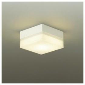 DAIKO LED小型シーリングライト 白熱灯60W相当 非調光タイプ 天井付・壁付兼用 電球色タイプ 四角型 DBK-39359Y
