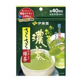 伊藤園 お〜いお茶 さらさら緑茶濃い茶 32g 約40杯分 16321