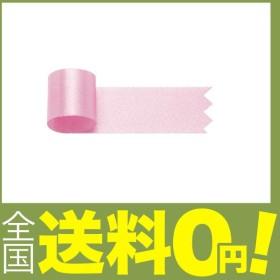 タカ印 リボン 50-7424 グレースリボン 幅18mm×20m巻 桃
