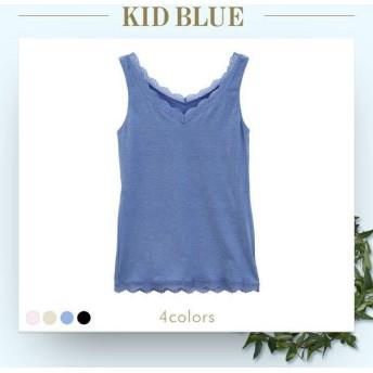 KID BLUE キッドブルー 16起毛ベア天竺 タンクトップ レディース
