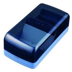カール事務器/名刺整理器 ブルー 600名収容/NO860E-B