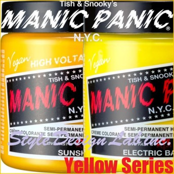 予約販売品 エレクトリックバナナのみ9月中旬予定 宅配便 定形外郵便可 マニックパニックジャパン マニックパニック 118ml イエロー系