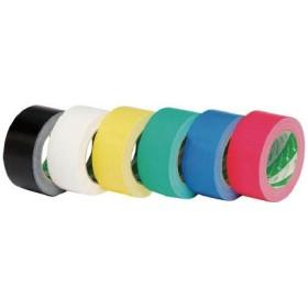 ニチバン 布粘着テープ121 アカ 1211-50 テープ用品・梱包用テープ