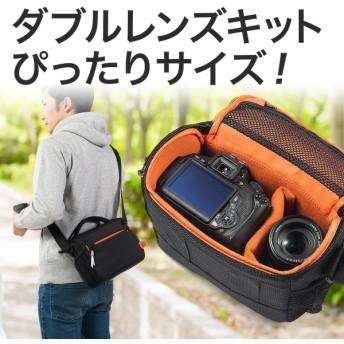 カメラバッグ 一眼レフ バッグ ショルダー カメラケース レンズ収納 カメラバック(即納)