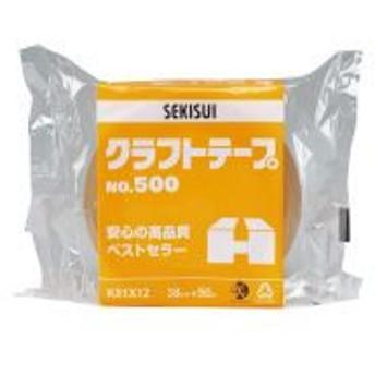 クラフトテープ No.500 38mm×50m K51X12