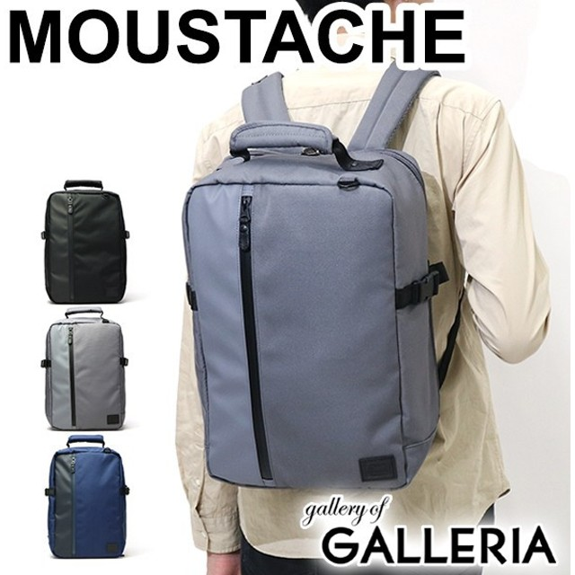 MOUSTACHE ムスタッシュ リュックサック スクエア メンズ JCZ-6011