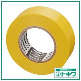 TRUSCO 脱鉛タイプビニールテープ 19mmX10m 10巻入り 黄 GJ-2110 ( GJ2110 )