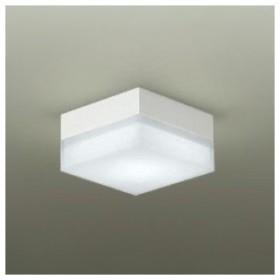 DAIKO LED小型シーリングライト 白熱灯60W相当 非調光タイプ 天井付・壁付兼用 昼白色タイプ 四角型 DBK-39359W