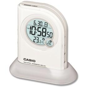 お取り寄せ カシオ DQD-410J-7JF 電波置き時計 懐中電灯付 1台