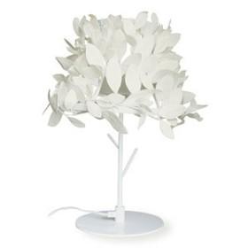 ディクラッセ テーブルランプ Paper-Foresti 60W相当 電球色 電球型蛍光灯 E17口金 中間スイッチ付 LT3695WH