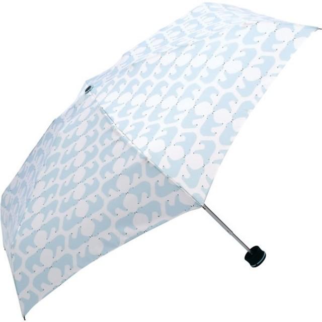 ハス HUS. Smart Mini Shirokuma スマートミニ 折りたたみ傘 日傘 傘袋付き 55355