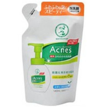 ロート製薬/メンソレータムアクネス 薬用ふわふわな泡洗顔詰替 140ml