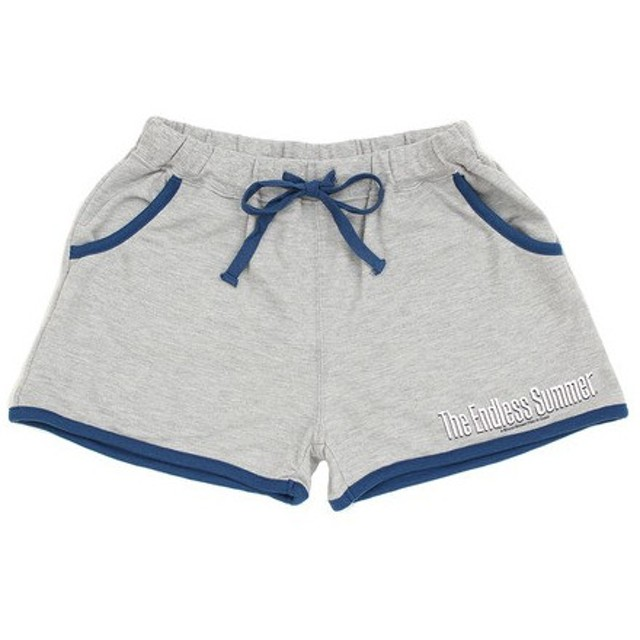 The Endless Summer スウェットショートパンツ TESL010 GRY (Lady's)