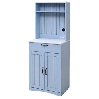 フレンチカントリー家具 カップボード 幅60/FFC-0006-BL ブルー