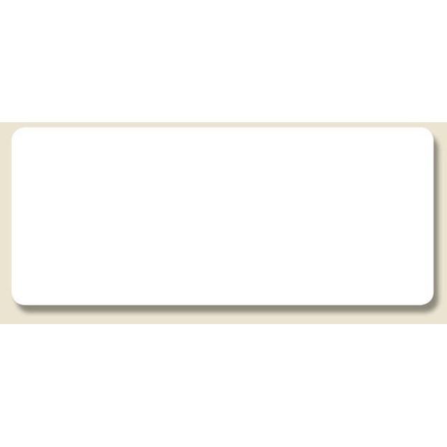 HEIKO タックラベル No.006 19×45 白無地 120片