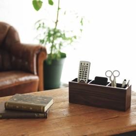 木製リモコンラック 室内装飾品 室内雑貨 小物ボックス 856-132 代引不可