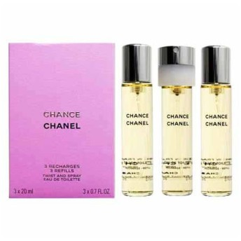 シャネル チャンス EDT ツイスト&スプレー レフィル (女性用香水) 20ml×3