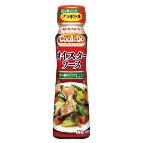 味の素 CookDo オイスターソース プラボトル 200g まとめ買い(×5) 4901001360741(dc)