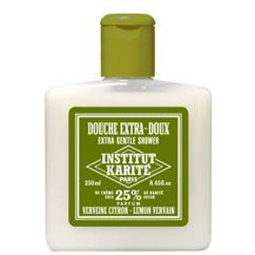 《アウトレット》INSTITUT KARITE インスティテュート カリテ 25% Extra Gentle Shower ジェントル シャワージェル 250ml Lemon Vervain レモンヴァ-バイン