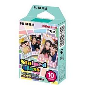 FUJIFILM<富士フイルム>チェキ用フィルム ステンドグラス チェキフィルム INSTAXMINI STAINED GLASS 1