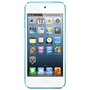APPLE / アップル iPod touch MD717J/A [32GB ブルー] 【MP3プレーヤー】