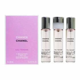 シャネル チャンス オー タンドゥル EDT ツイスト&スプレー レフィル (女性用香水) 20ml×3