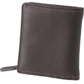 チェルベ ダブルステッチ財布 ブラウン 装身具 財布 札入れ S-CBM163007BRN 代引不可