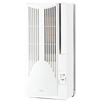 【新品・在庫あり】■KOIZUMI/コイズミ KAW-1951【高さ75cmのコンパクト設計】熱交換器洗浄可能窓用エアコン