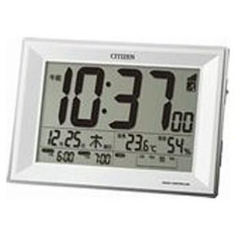 リズム時計工業 電波目覚まし時計「パルデジットワイドDL」 8RZ151‐003