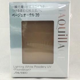 資生堂 マキアージュ ライティング ホワイトパウダリー UV レフィル ベージュオークル20 10g