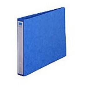 リヒトラブ/リングファイル A4ヨコ 背幅35mm 藍 10冊/F-833